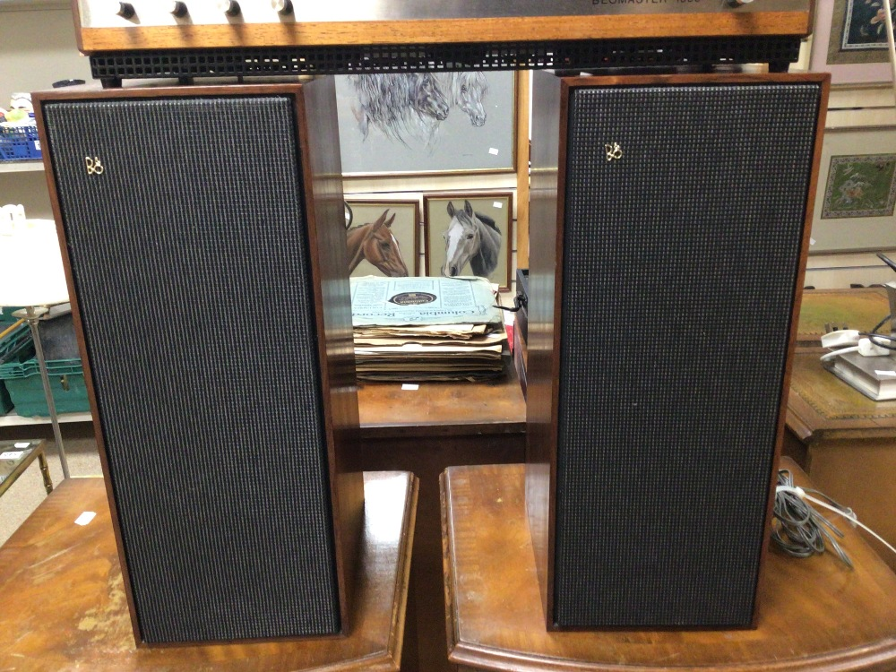 BANG AND OLUFSEN BEOMASTER 1000 WITH BEOVOX 1000 SPEAKERS - Image 2 of 10