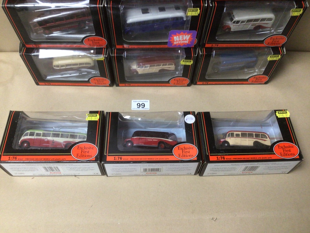 SIXTEEN BOXED DIE-CAST TOYS 1:76 SCALE BUSES/COACHES - Image 5 of 5