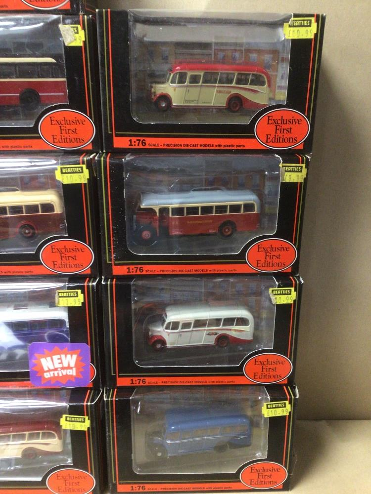 SIXTEEN BOXED DIE-CAST TOYS 1:76 SCALE BUSES/COACHES - Image 2 of 5