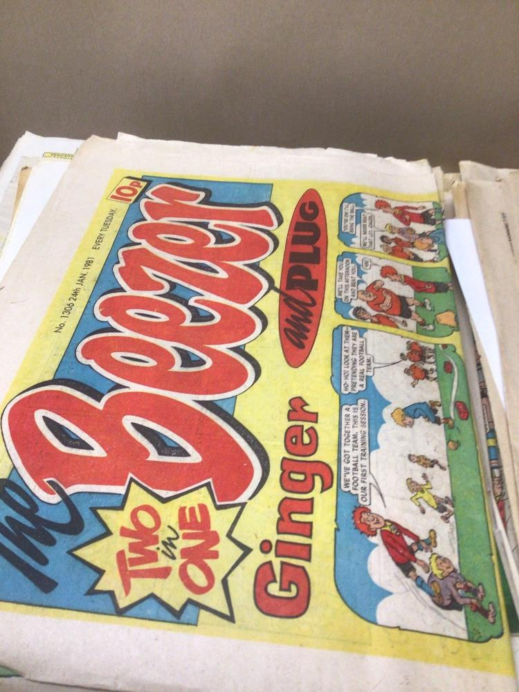 A LARGE QUANTITY OF VINTAGE COMICS 70S & 80S, 108 X BEEZER, 3 X WHIZZER, 2 X WHOOPEE, 1 X SCHOOL - Image 6 of 6