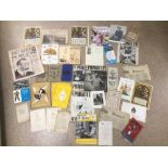 A MIXED COLLECTION OF EPHEMERA INCLUDES SHIPPING, FESTIVAL OF BRITAIN AND MORE