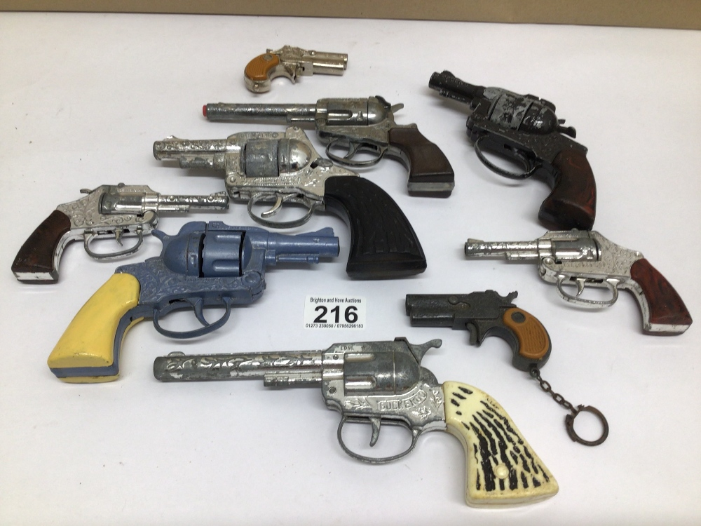 VINTAGE DIE-CAST TOY CAP GUNS, LONE STAR, CRESCENT VICTORY & GONHER SEVERAL A/F - Image 2 of 2