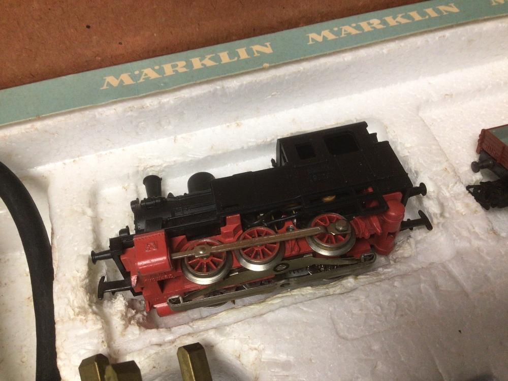 A BOXED MARKLIN TRAIN SET 1970S - Image 5 of 7