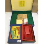 A VINTAGE BAYKO 2X AND 3X CONVERTING SET BUILDING TOYS, IN ORIGINAL BOXES, CONTENTS UNCHECKED,