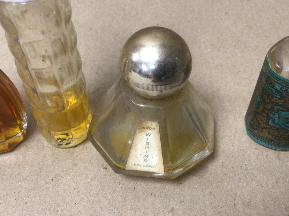 NINE SMALL VINTAGE OF MIXED COLOGNE AND PERFUME BOTTLES, ONE BOXED, SOME WITH CONTENTS, INCLUDES NO. - Image 5 of 5