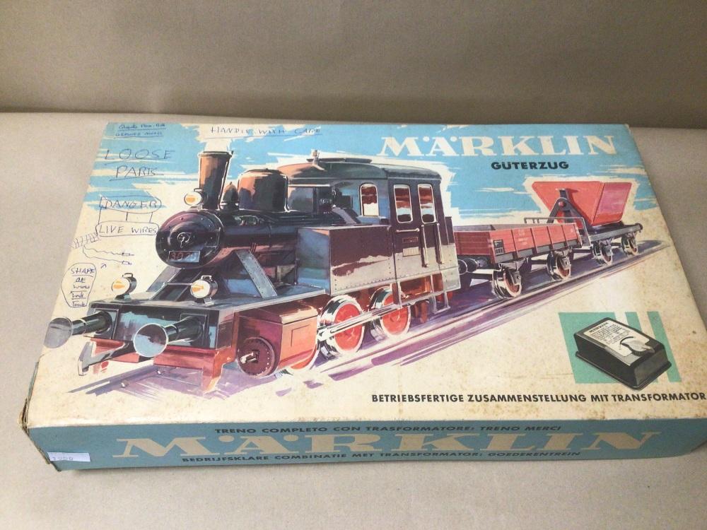 A BOXED MARKLIN TRAIN SET 1970S - Image 7 of 7