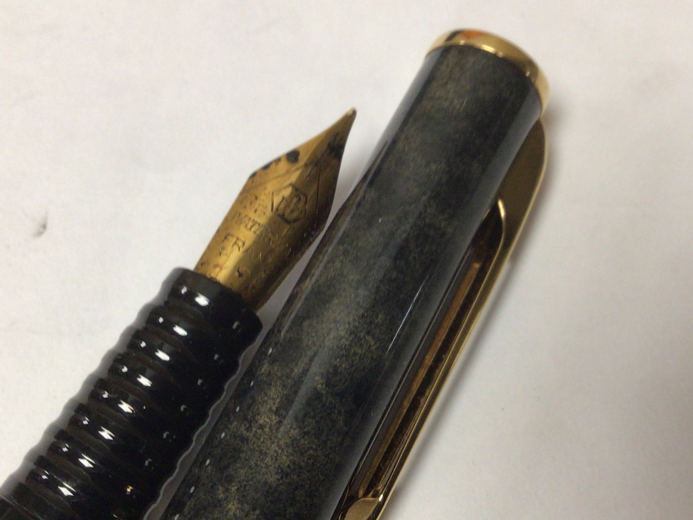 A QUANTITY OF PENS GOLD PLATED SHEAFFER'S AND WATERMAN PEN - Image 4 of 6