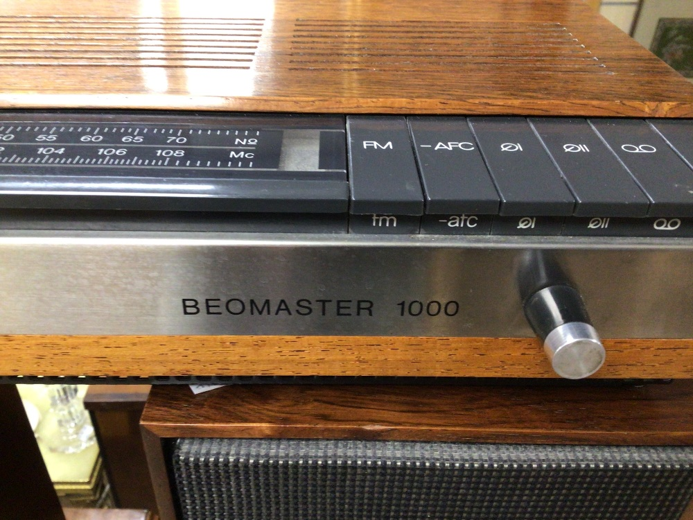 BANG AND OLUFSEN BEOMASTER 1000 WITH BEOVOX 1000 SPEAKERS - Image 5 of 10