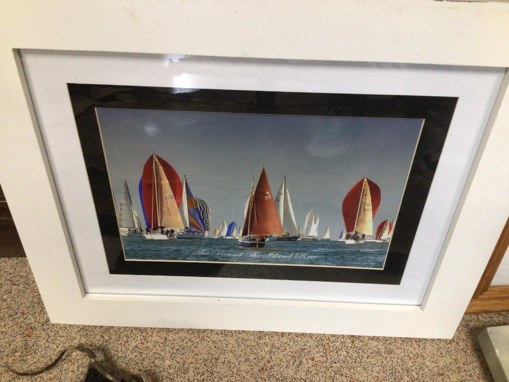 A LARGE QUANTITY OF SHIPS/BOATING PRINTS AND PHOTOGRAPHS, TITANIC CUNARD AND MORE, MOST FRAMED AND - Image 2 of 5