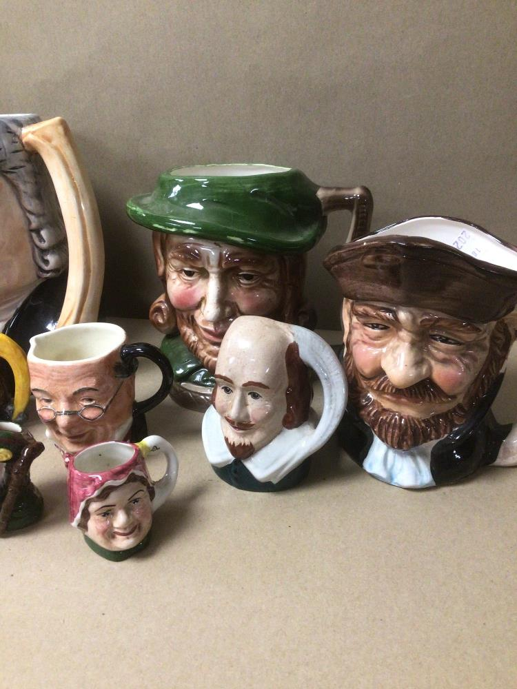 A QUANTITY OF MIXED TOBY JUGS, INCLUDES MUSICAL - Image 2 of 6