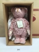 A 1997 LIMITED EDITION OF 3,000 STEIFF PINK BEAR