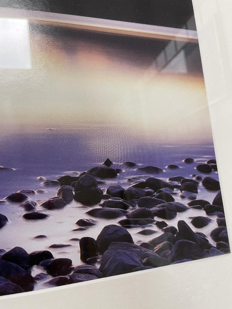 DAVID NOTON, TITLED SCOTTISH HIGHLANDS, LOCH RANNOCK AT DUSK PHOTOGRAPH FRAMED AND GLAZED, 108 X - Image 4 of 8