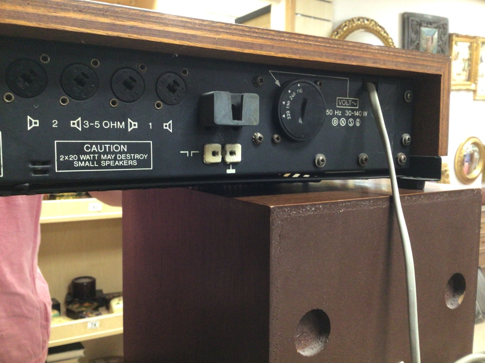 BANG AND OLUFSEN BEOMASTER 1000 WITH BEOVOX 1000 SPEAKERS - Image 9 of 10