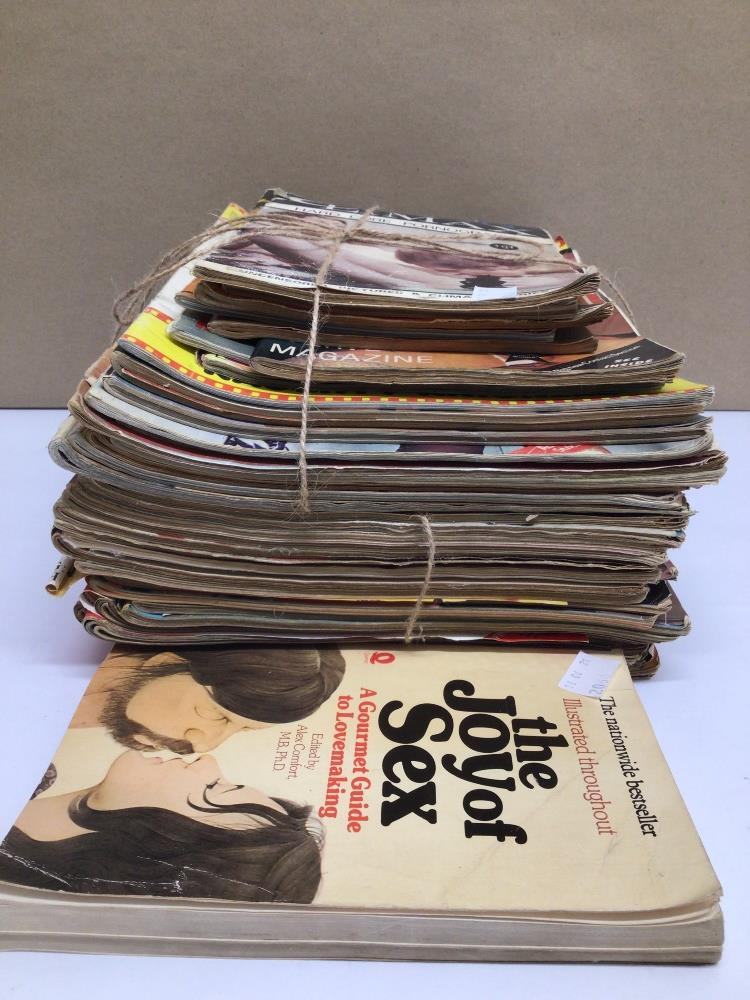 A QUANTITY OF VINTAGE ADULT MAGAZINES, CONSENT, COLOR CLIMAX AND MORE - Image 4 of 6