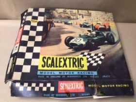 A VINTAGE BOXED SCALEXTRIC