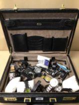 GIOTTO MADE IN ITALY SUITCASE FILLED WITH DIESEL WATCHES