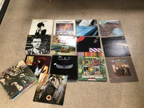 A QUANTITY OF ALBUMS/VINYL, PINK FLOYD, JEFF BECK, THE CULT, CLIMAX BLUES BAND, CREAM, VELVET