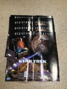 STAR TREK (FIRST CONTACT) MOVIE POSTER X 29, 42 X 42CM