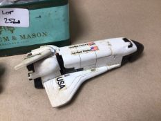 CORGI 007 ASTON MARTIN BANDAI SPACE SHUTTLE AND METAL TRANSFORMERS AND MORE