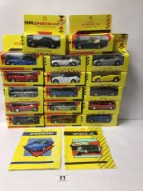 MIXED BOX OF DIE-CAST TOYS, SHELL COLLECTION TOY CARS