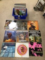 A QUANTITY OF ALBUMS/LPS, VINYL, STEVIE WONDER, PSYCHEDELIC FORS, SKIDS, ART OF NOISE AND MORE