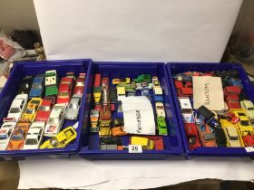 MIXED PLAY WORN DIE-CAST TOYS, SPOT-ON, DELPARDO, AND MORE