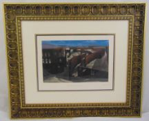 Salvador Dali framed and glazed polychromatic serigraph titled Two Hundred and Thirty Seven, limited