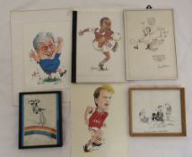 A quantity of Peter Maddocks prints and one original, various subjects 6)