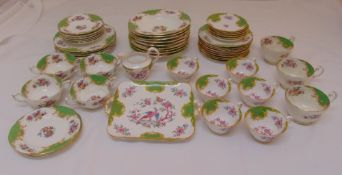 Paragon Rockingham and Grosvenor China dinner and tea service to include plates, bowls, a milk