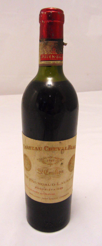 Chateau Cheval Blanc 1949 St Emilion, 75cl bottle
