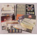 A quantity of British first day covers