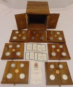 Canadian Olympic silver coins Series VI limited issue commemorating the XXI Olympic Games in