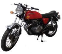 A 1976 Honda CB400 F Super Sport Classic motorcycle, 18,073 miles, 6-speed manual, registration