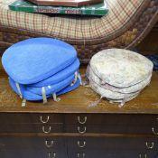 2 sets of 4 original Ercol seat cushions