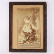 Ellen Terry, original Studio photograph of Ellen Terry as Madame Sans-Gene, original ink inscription