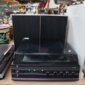 HACKER - a Vintage Centurion music centre record player, with Garrard SP25 MK IV turntable, and a