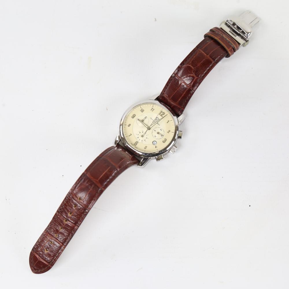 CHRISTOPHER WARD - a stainless steel C3 Malvern quartz chronograph wristwatch, ref. C3SWT, circa - Image 2 of 5