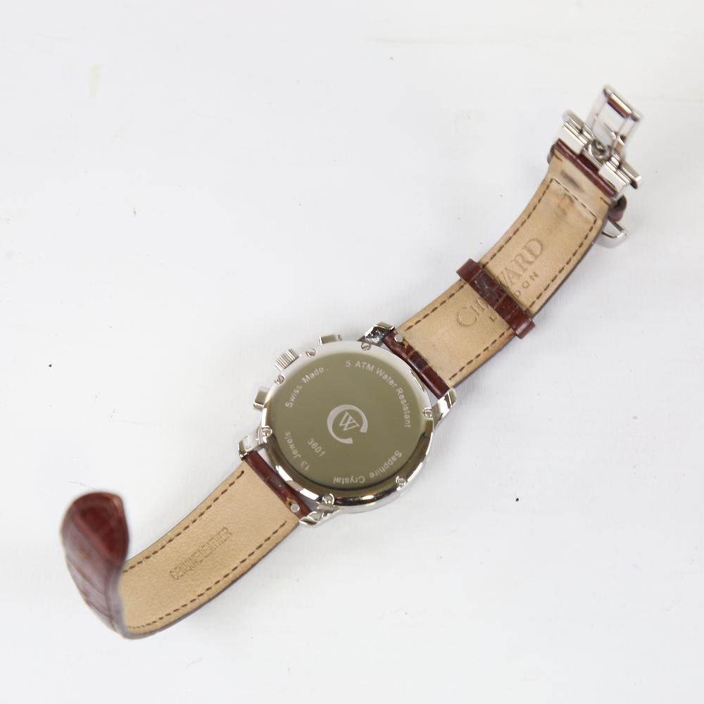 CHRISTOPHER WARD - a stainless steel C3 Malvern quartz chronograph wristwatch, ref. C3SWT, circa - Image 3 of 5