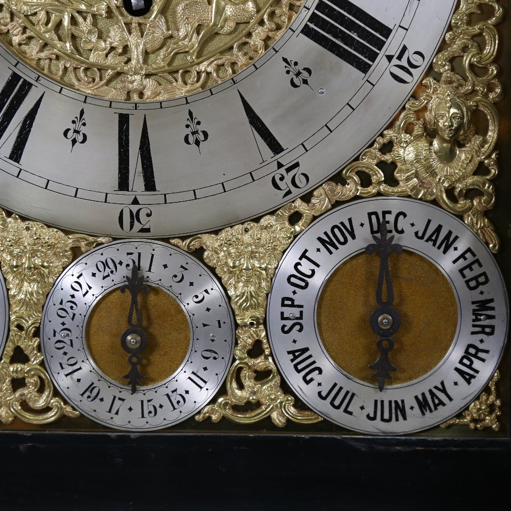 A spectacular 19th century quarter chiming English Exhibition table clock with automata, - Image 16 of 51