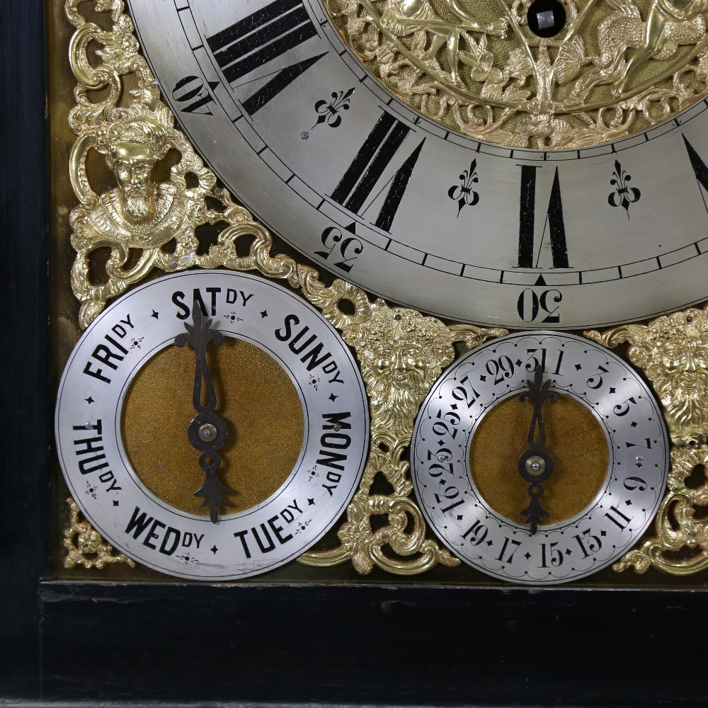 A spectacular 19th century quarter chiming English Exhibition table clock with automata, - Image 14 of 51