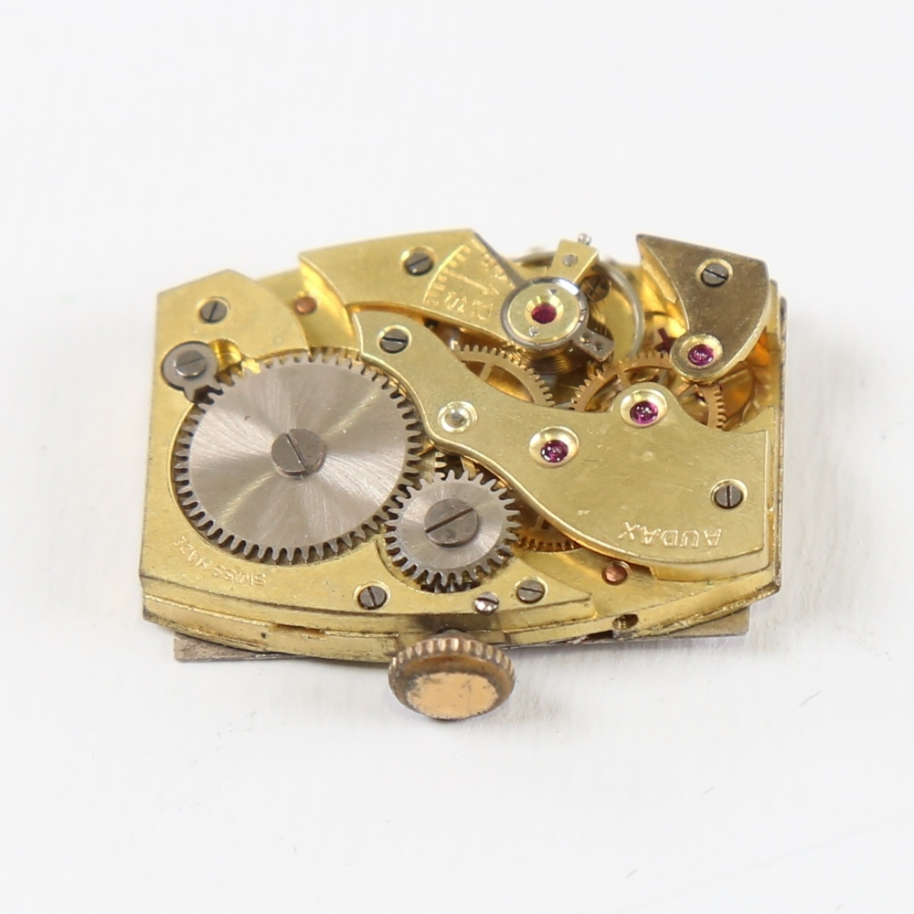 2 Vintage wristwatch movements, including Marvin and Audax, Audax working (2) Marvin in good overall - Image 4 of 5