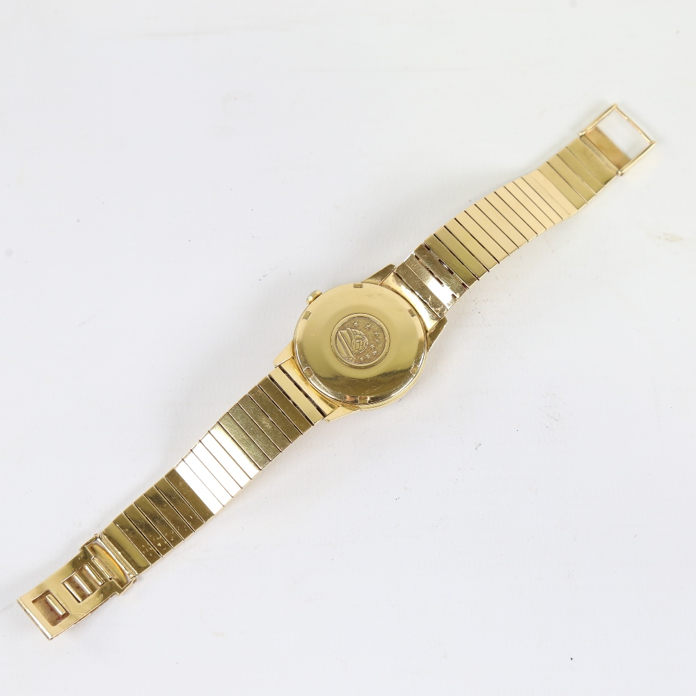 OMEGA - a Vintage 18ct gold Constellation Calendar automatic chronometer wristwatch, ref. 886, circa - Image 3 of 5