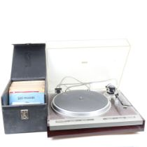 PIONEER - a Vintage direct drive full automatic PL-505 turntable, original instruction booklet,