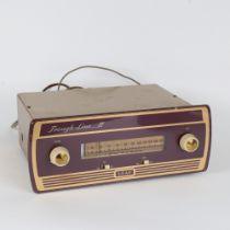 LEAK - a Vintage Trough-Line II FM tuner radio