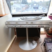 BANG & OLUFSEN (B&O) - a Vintage BeoCenter 3500 turntable and FM tuner, and a pair of BeoVox 3702