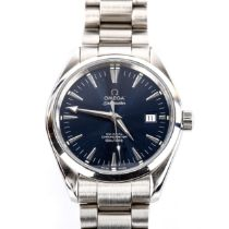 OMEGA - a stainless steel Seamaster Aqua Terra co-axial automatic chronometer bracelet watch, ref.