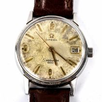 OMEGA - a Vintage stainless steel Seamaster 600 mechanical wristwatch, ref. 136.012, circa 1960s,
