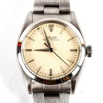ROLEX - a Vintage stainless steel Oyster Precision mechanical bracelet watch, ref.6422, circa