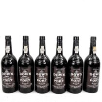 6 Bottles of Dows 1983 Vintage Port From a local private cellar