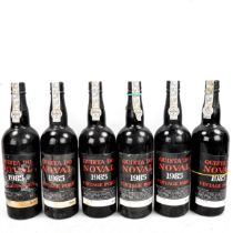 6 Bottles of Quinta Do Noval, 1985 Vintage Port. From a local private cellar.